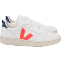 Compra V-10 Leather Extra-White_Orange-Fluo_Cobalt