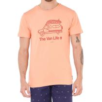 Buy Van Life Tee Peach