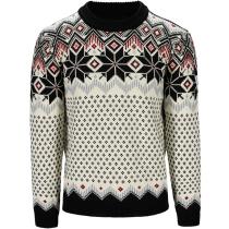 Acquisto Vegard Masc Sweater Noir/Blanc