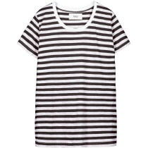 Buy Verkstad T-Shirt Black-White