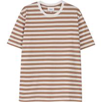 Buy VerkstadT-Shirt Camel-White