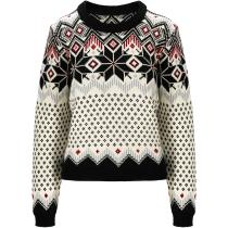 Achat Vilja Fem Sweater Noir/Blanc