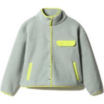 Achat W Cragmont Fleece Jkt Wrought Iron/Sulphur Spring Green