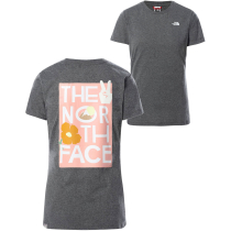 Achat W Graphic S/S Tee Tnf Medium Grey Heather
