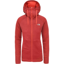 Achat W Hikesteller Midlayer Radiant Orange/Cardinal Red