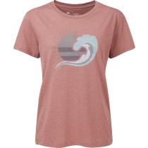 Acquisto W Keep It Clean T-Shirt Burlwood Pink Heather