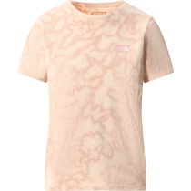 Acquisto W Natural Dye Tee Evening Sand Pink Wash