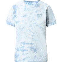 Buy W Natural Dye Tee Tourmaline Blue Wash