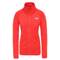 Achat W Quest Grid Midlayer Juicy Red