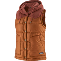 Buy W's Bivy Hooded Vest Wood Brown