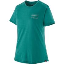 Buy W's Cap Cool Merino Graphic Shirt '73 Skyline: Borealis Green