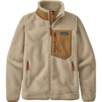 Achat W's Classic Retro-X Jkt Natural w/Nest Brown