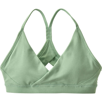 Buy W's Cross Beta Sports Bra Gypsum Green