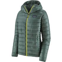Buy W's Down Sweater Hoody Regen Green