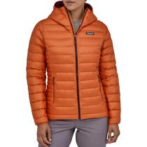 Kauf W's Down Sweater Hoody Sunset Orange