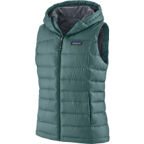 Achat W's Hi-Loft Down Hooded Vest Regen Green