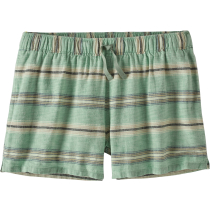 Acquisto W's Island Hemp Baggies Shorts Tarkine Stripe Small: Ellwood Green