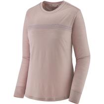 Buy W's L/S Cap Cool Merino Graphic Shirt Fitz Roy Fader: Stingray Mauve