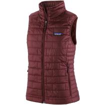 Buy W's Nano Puff Vest Dark Ruby w/Dark Ruby