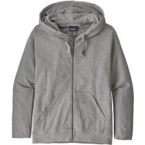 Buy W's Organic Cotton French Terry Hoody Feather Grey