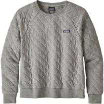 Acquisto W's Organic Cotton Quilt Crew Drifter Grey