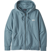 Achat W's Pastel P-6 Label Ahnya Full-Zip Hoody Berlin Blue