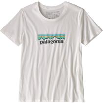Achat W's Pastel P-6 Logo Organic Crew T-Shirt White