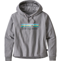 Achat W's Pastel P-6 Logo Uprisal Hoody Gravel Heather