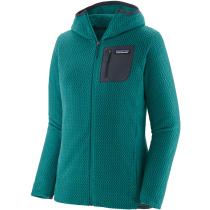 Buy W's R1 Air Full-Zip Hoody Borealis Green