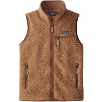 Buy W's Retro Pile Vest Beech Brown