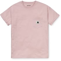 Buy W' S/S Carrie Pocket T-Shirt Regular Fit Frosted Pink