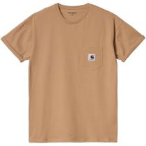 Buy W' S/S Pocket T-Shirt Sediment