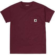 Buy W' S/S Pocket T-Shirt Wine