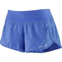 Buy W's Strider Shorts - 3 1/2 in. Kelp Plot Float Blue