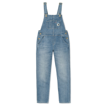 Kauf W Bib Overall Blue Light Stone Washed