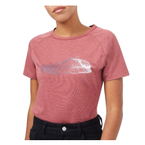 Acquisto W Featherwave T-Shirt Apple Butter Red Heather