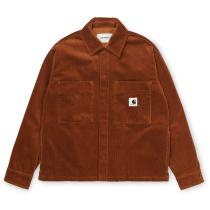 Buy W' Foya Shirt Jac Brandy Rinsed