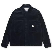 Buy W' Foya Shirt Jac Dark Navy Rinsed
