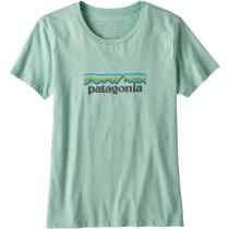 Achat W's Pastel P-6 Logo Organic Crew T-Shirt Gypsum Green