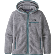 Kauf W's Retro Pile Hoody Salt Grey