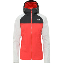 Achat W Stratos Jacket Cayenne Red/Tin Grey/Asphalt Grey