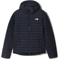 Achat W Stretch Down Hoodie Aviator Navy