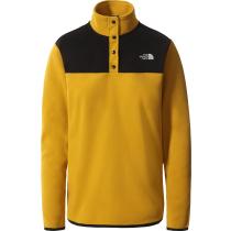 Buy W Tka Glacier Snap-Neck Pullover Arrow Wood Yellow/Tnf Blck