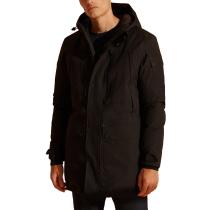 Buy Waterproof Down Parka M Black Marl