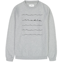 Buy Waves Light Sweatshirt Light Grey