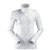 Kauf Wax 1/2 Zip Print W White/Camo Print