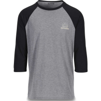 Achat Well Rounded 3/4 Raglan Tech T Black
