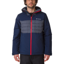 Kauf White Horizon Hybrid Jacket Collegiate Navy/Collegiate Navy Heather