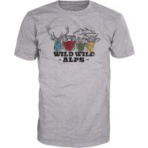 Acquisto Wild Wild Alps T-Shirt Grey Melange