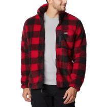 Achat Winter Pass Print Fleece Full Zip M Mountain Red Check